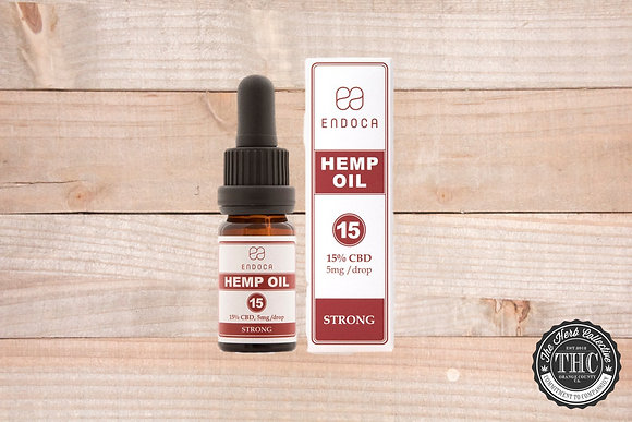 ENDOCA | CBD Hemp Oil Drops 1500mg
