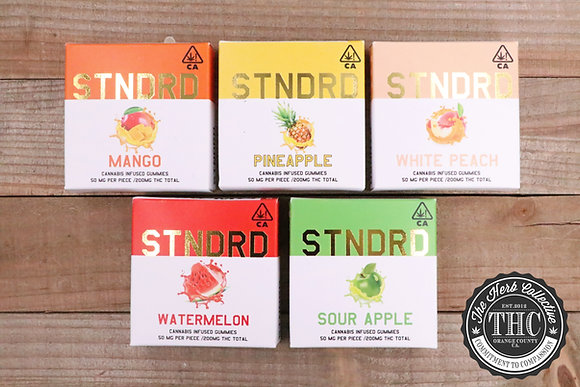 STNDRD |  THC Infused Gummies 200mg