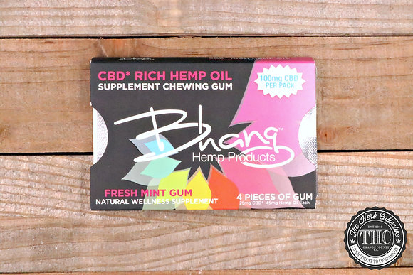 BHANG | CBD Fresh Mint Gum 100mg