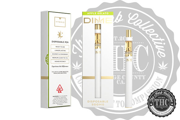 DIME INDUSTRIES | Dime Disposable Vape Pen 500mg