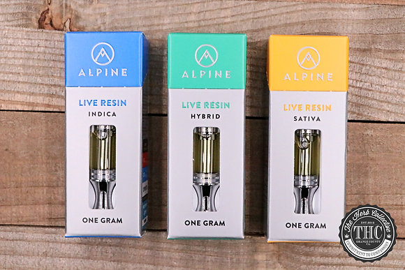 ALPINE | Live Resin Vapor Cartridge | 1 Gram
