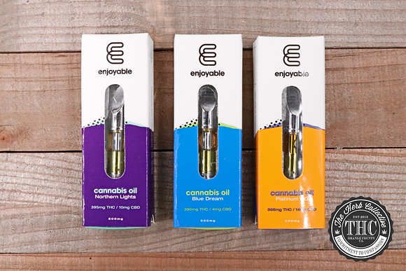 ENJOYABLE | Premium Vapor Cartridge | .5 Gram