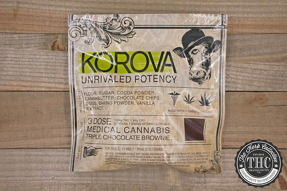 KOROVA | Triple Chocolate Brownie 150mg