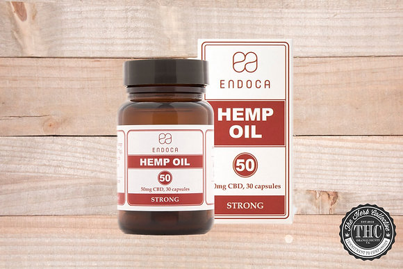ENDOCA | CBD Hemp Oil Capsules 1500mg