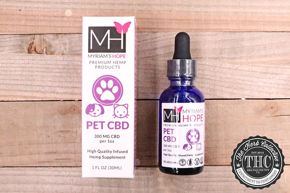 MYRIAM'S HOPE | Pet CBD Oil 300mg