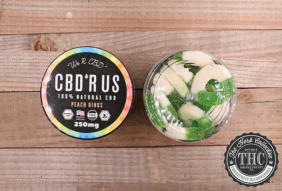 CBD R US | CBD Infused Apple Rings 250mg