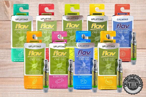 FLAV | CBD Vapor Cartridge |  1 Gram