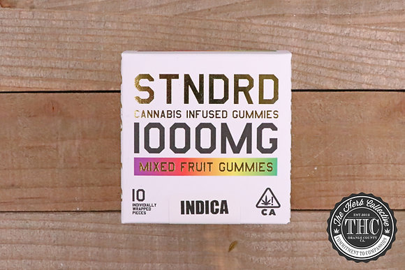 STNDRD |  THC Infused Gummies 1000mg