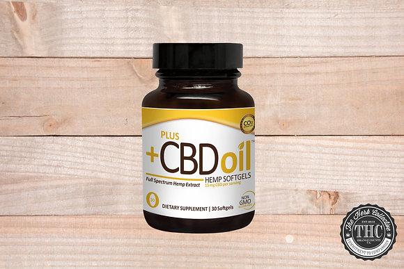 PLUS+ CBD | Gold Formula CBD Softgels 150mg -450mg
