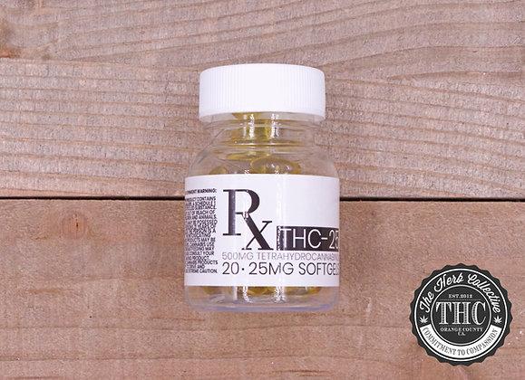 RX | THC Gel Capsules 500mg