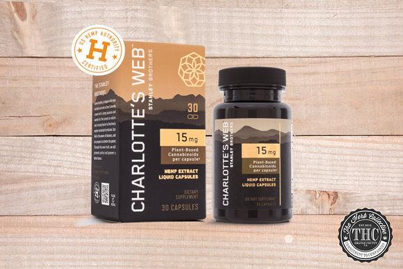 CHARLOTTE'S WEB | CBD Liquid Capsules | 450mg - 750mg