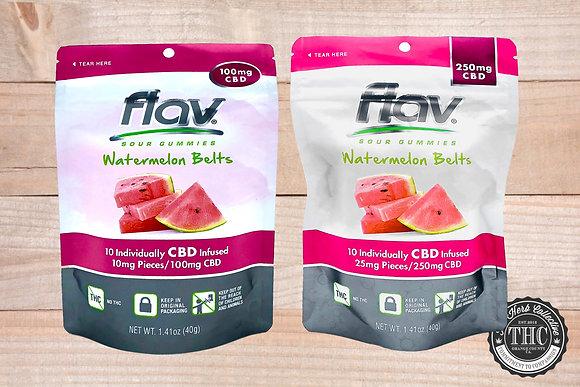 FLAV | CBD Watermelon Belts | 100mg - 250mg