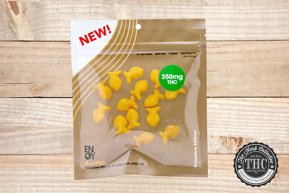 ENJOYABLE EDIBLES | Gold Fish Crackers 350mg