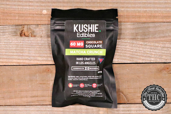 KUSHIE | Matcha Crunch Chocolate Square 60mg