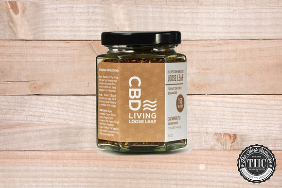 CBD LIVING | CBD Loose Leaf Chai Tumeric Tea 150mg