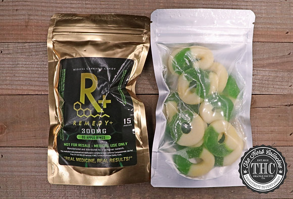 REMEDY+ | Green Apple Rings 300mg