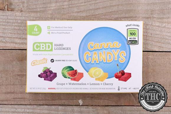 CANNA CANDY'S | CBD Hard Candies 4 Pack
