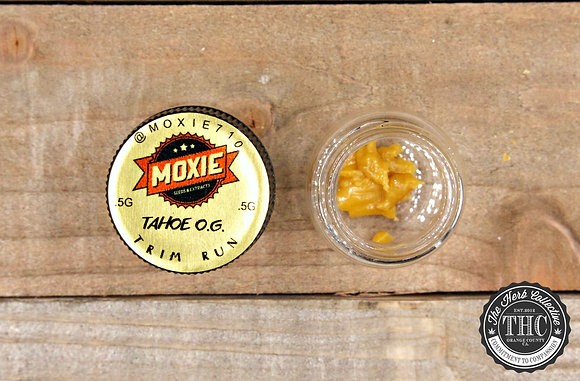 MOXIE 710 | Whole Plant Resin | .5 Gram