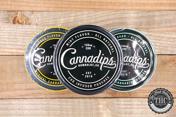 CANNADIPS | THC Infused Pouches