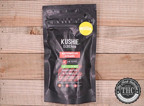 KUSHIE | Watermelon Straws 100mg