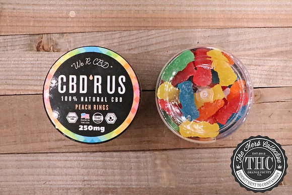 CBD R US | CBD Infused Sweet N Sour 250mg