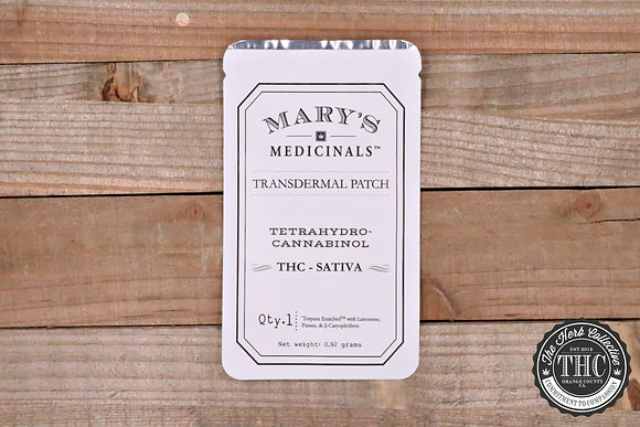 MARY'S MEDICINAL | THC Transdermal Patches 20mg