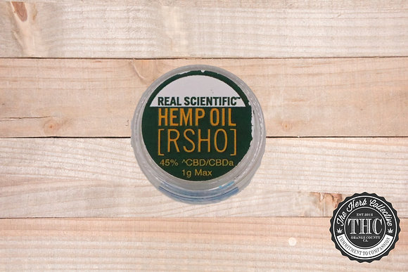 RSHO | Real Scientific Hemp Oil | Max Oil 450mg | 1Gram