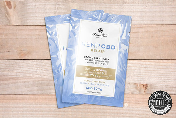 MANTRA MASK | CBD Repair Facial Mask | 30mg