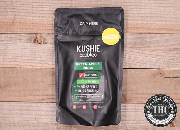 KUSHIE | Green Apple Rings 100mg