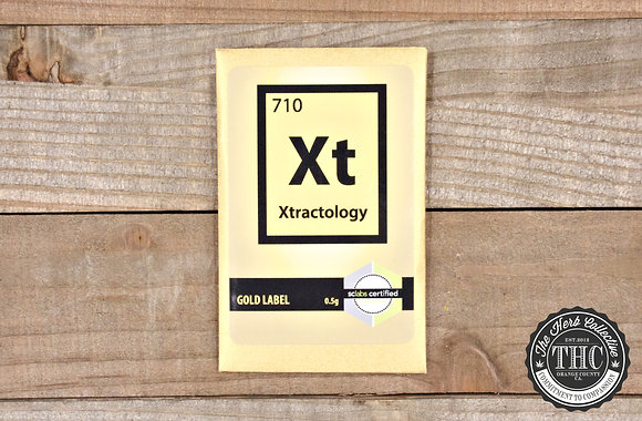 XTRACTOLOGY | Gold Label Shatter Resin | .5 Gram