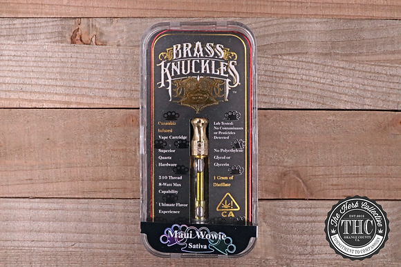 BRASS KNUCKLES | Premium Vape Oil Cartridge | 1 Gram