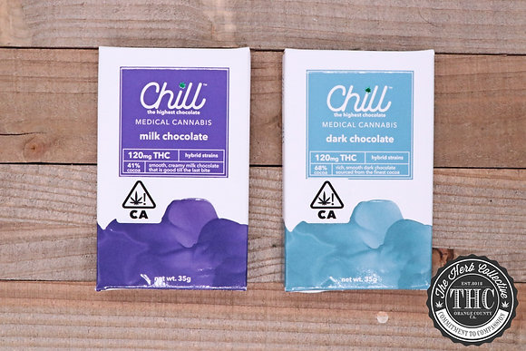 CHILL CHOCOLATE | Chocolate Bar 120mg