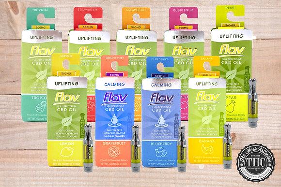 FLAV | CBD Vapor Cartridge | .5 Gram