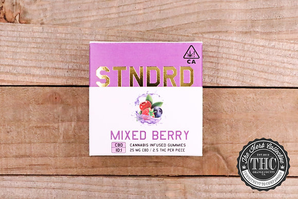 STNDRD |  10:1 CBD:THC Infused Gummy 100mg