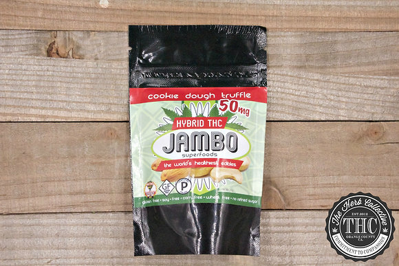 JAMBO SUPERFOODS   Cookie Dough Truffle 50-150mg