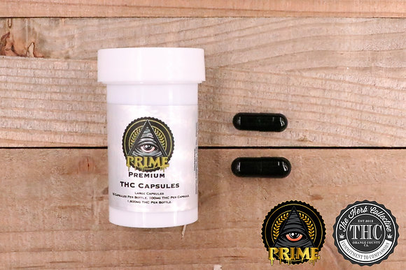 PRIME EXTRACTIONS | High THC Capsules | 800mg - 1600mg