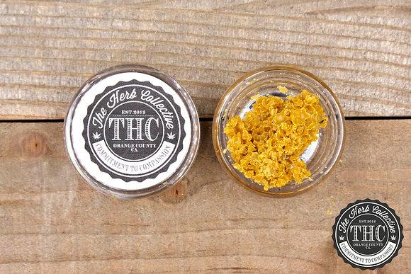 HIGH STANDARD | THC Premium BHO Crumble Wax | 1 Gram