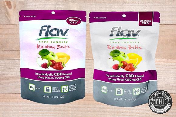FLAV | CBD Rainbow Belts | 100mg - 250mg