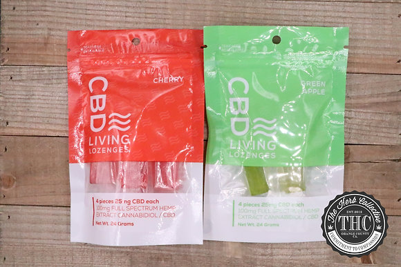 CBD LIVING | CBD Lozenges 100mg