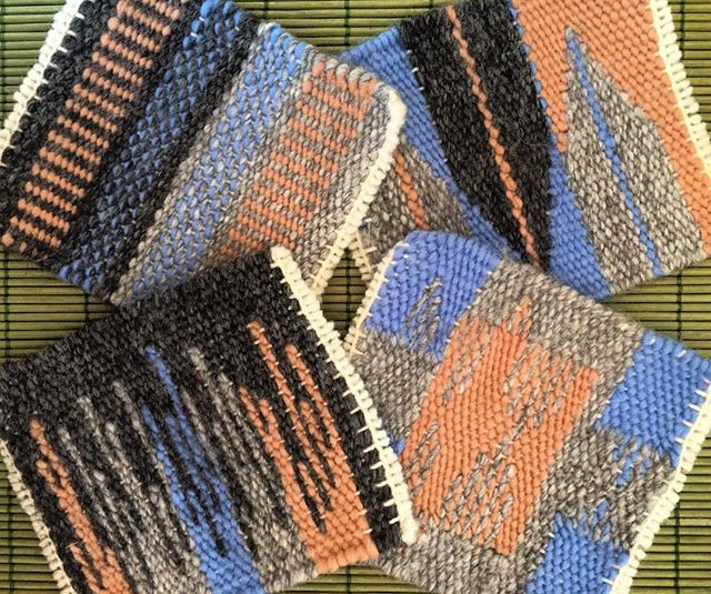 Tapestry Mug Rugs