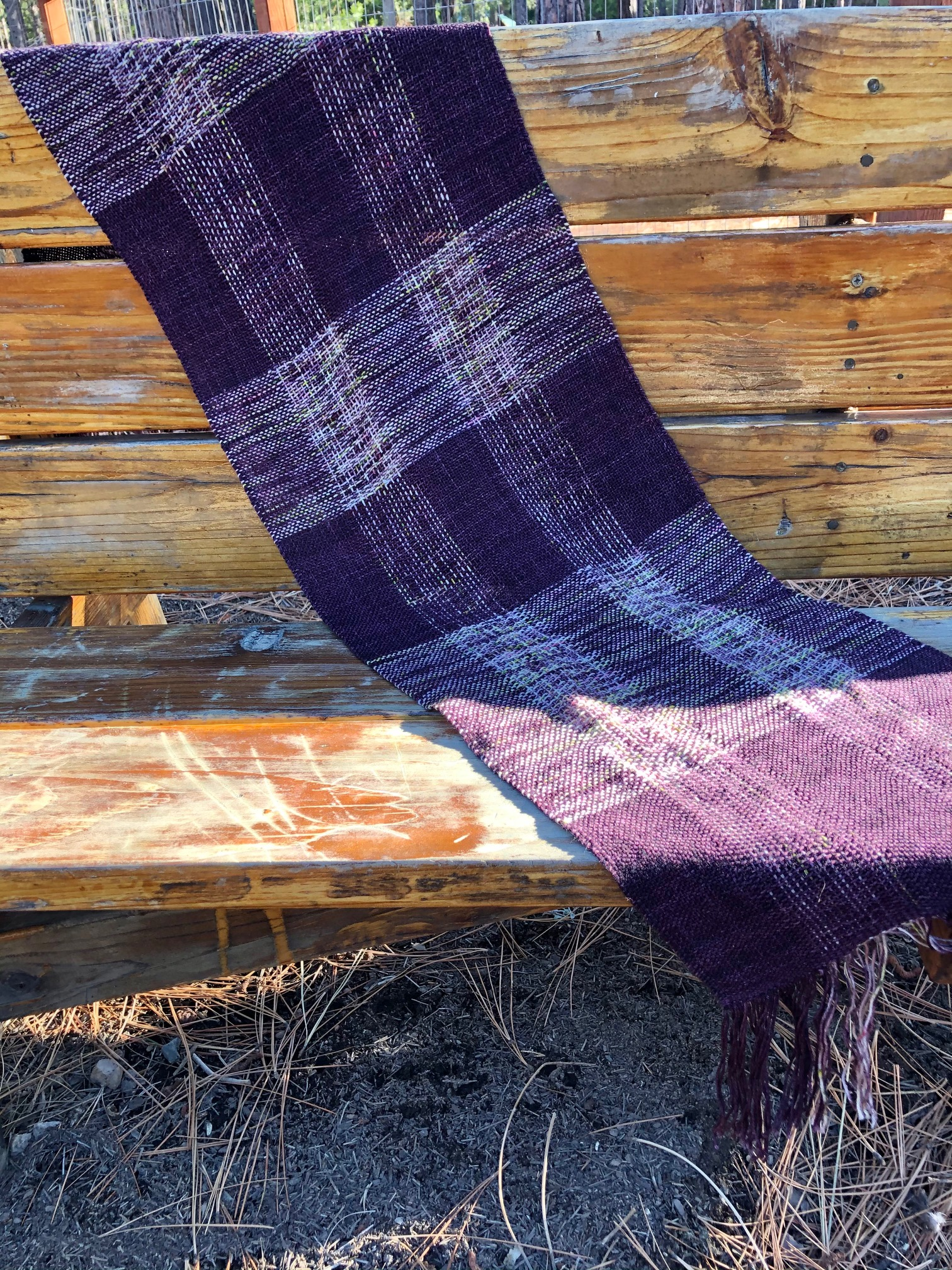 """Purple Passion"" Shawl"