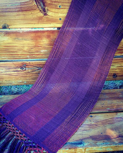 Hand- Dyed Shawl