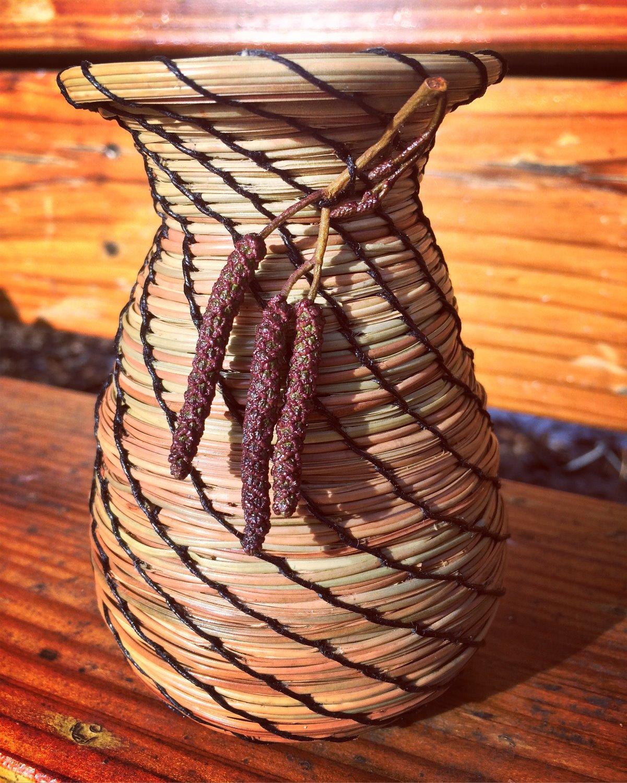 Pine Needle Vase