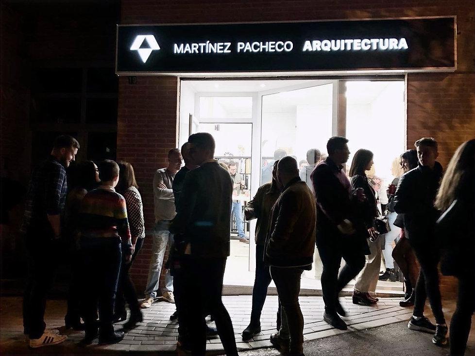 Exterior Oficina Martinez Pacheco Arquitectos en Cabezo de Torres