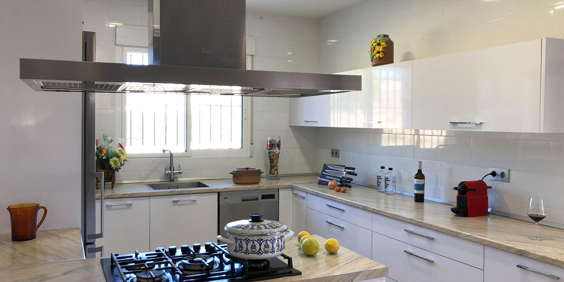 Vivienda en Mahoya. Casa entre olivos en Abanilla. Cocina