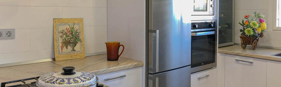 Vivienda en Mahoya. Casa entre olivos en Abanilla. Detalle cocina