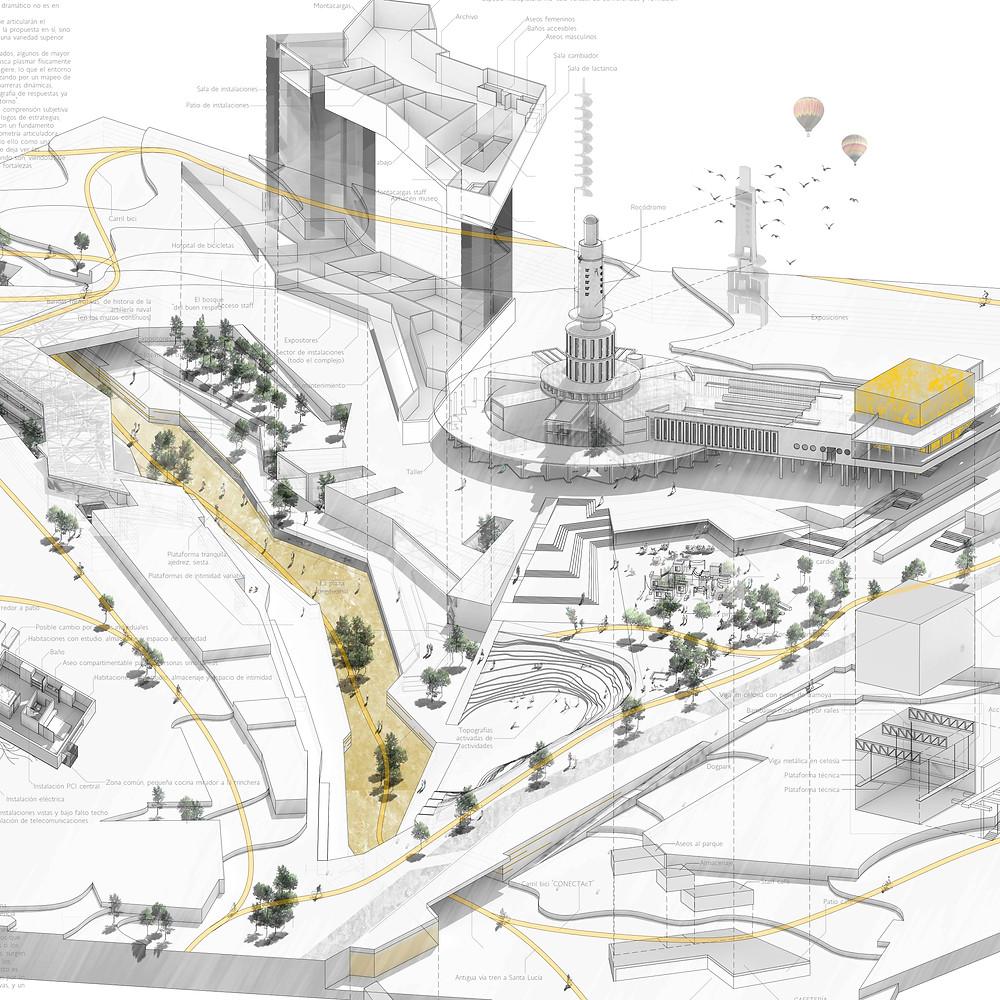 Arquitectura, proyecto de arquitectura en murcia, diseño urbano murcia