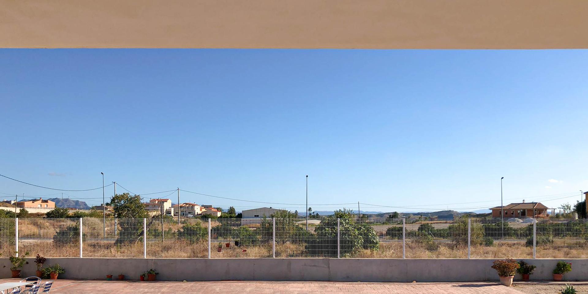 Vivienda en Mahoya. Casa entre olivos en Abanilla. Piscina
