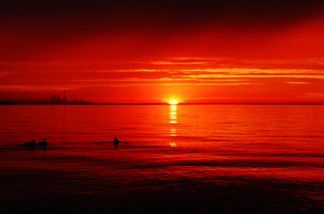 Sunrise. Toronto.2010