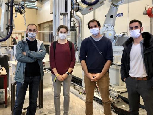 L'équipe Bioxegy et le biomimétisme à la rencontre de l'École des Ponts et Chaussées !